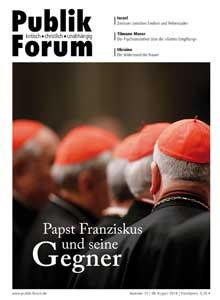 Papst Franziskus und seine Gegner