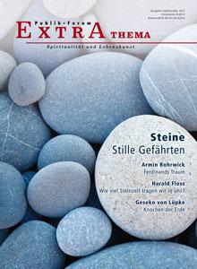 Steine Stille GefährtenStille Gefährten. - Publik-Forum EXTRA